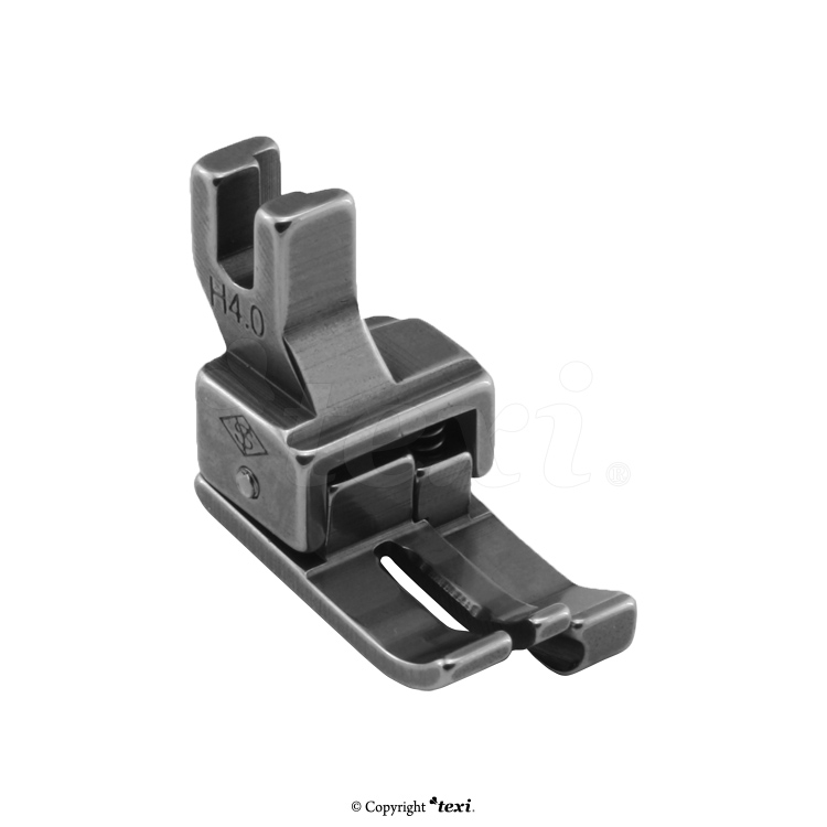 Compensating foot for household machine, right 4.0 mm