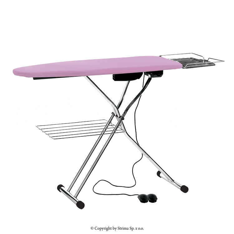 Ironing table board type 120x45cm, with suction, blowing and heated surface