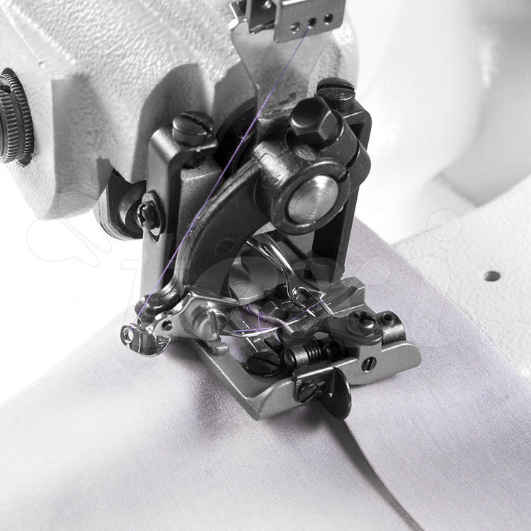 Blind stitch machine for light and medium materials, with AC Servo motor and needle positioning - complete sewing machine with 2 years warranty
