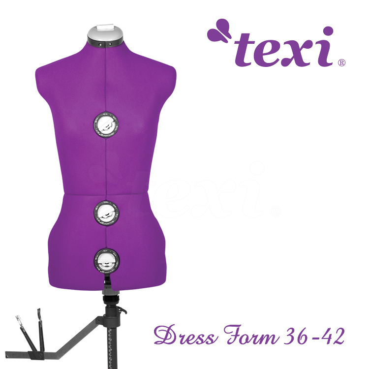 Dress form, adjustable size 36-42