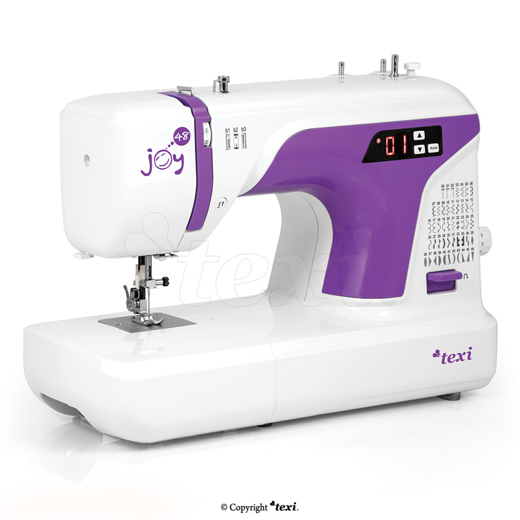 Multifunctional mechanical sewing machine, 48 stitches