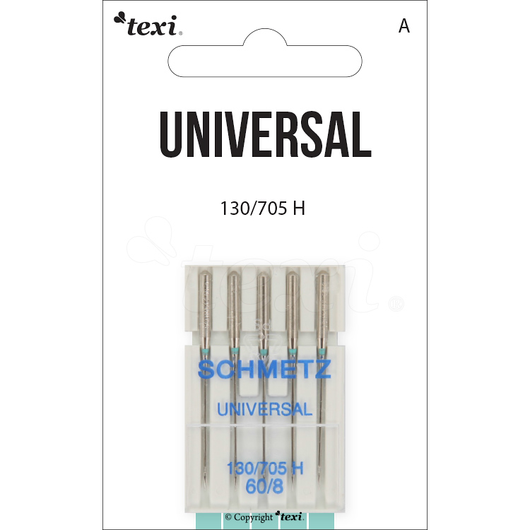 Universal needles for household machines, 5 pcs, size 60