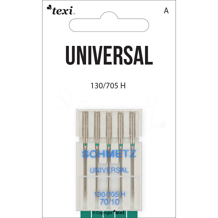 Universal needles for household machines, 5 pcs, size 70