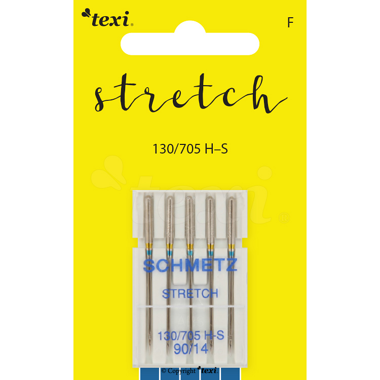 Stretch needles for household machines, 5 pcs, size 90