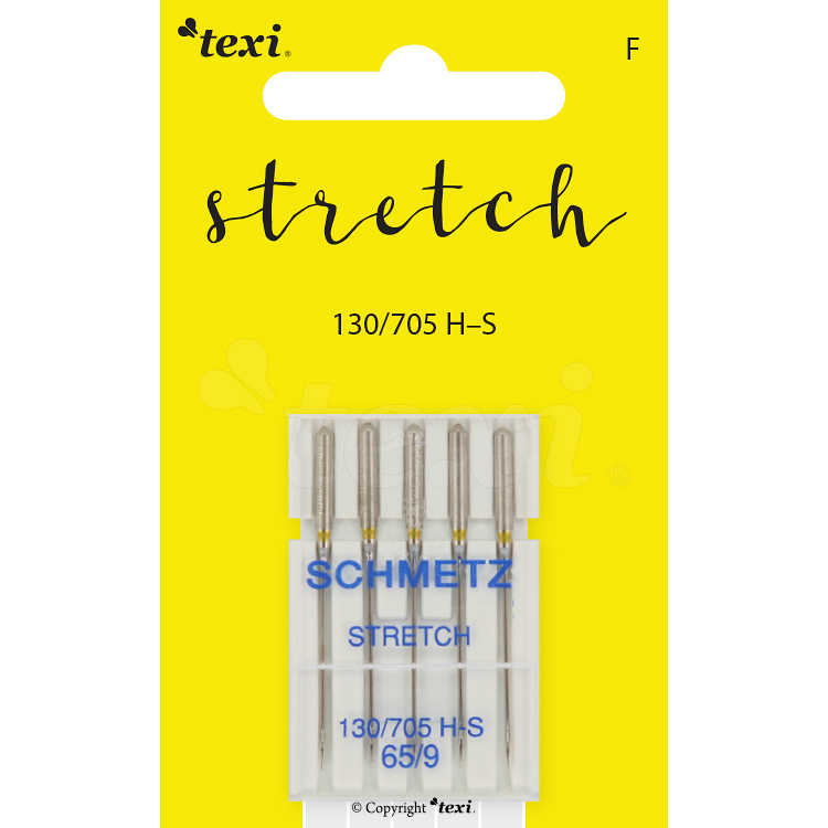 Stretch needles for household machines, 5 pcs, size 65