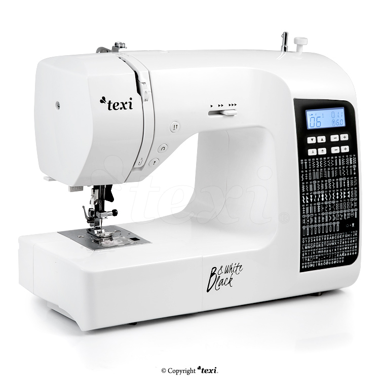 Multifunctional, computerized sewing machine