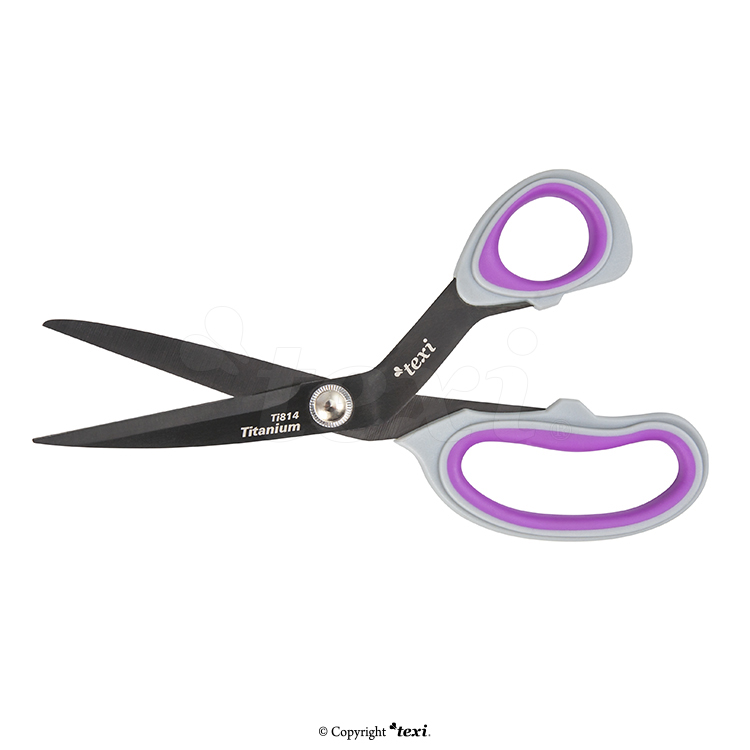 "8 1/4"" (21 cm) Titanium coated, professional dressmaker scissors"